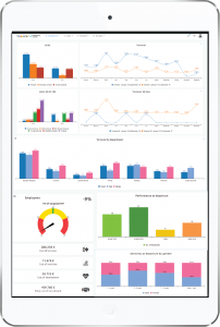 HR Dashboard Tablet